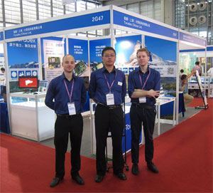 Toradex @ IPC and Embedded Expo, Shenzhen, China 2012