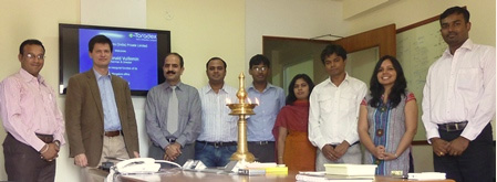 Inauguration ceremony of Toradex Systems (India) office