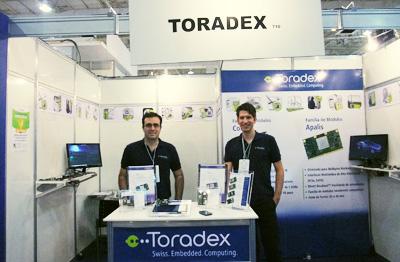 Toradex @ ESC expo, Brazil 2013
