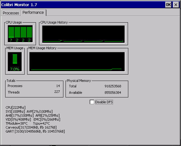 Colibri Monitor 1.7