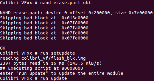 Updating the module