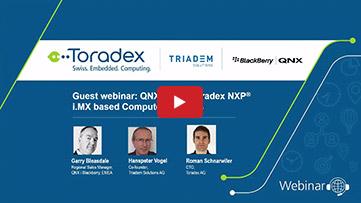 QNX 7.0 on Toradex NXP i.MX based Computer Modules