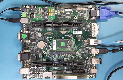 Colibri iMX6DL Colibri Evaluation Board setup