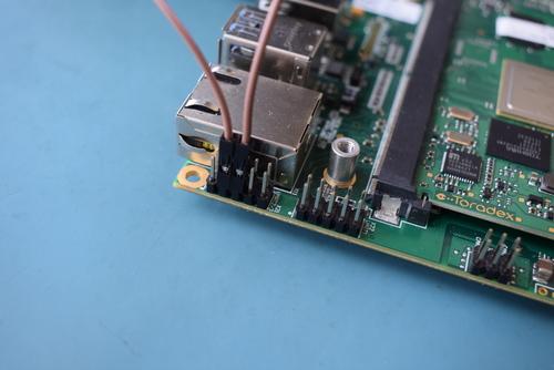 Ixora UART wiring