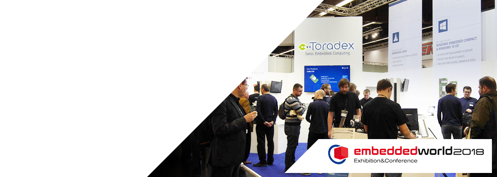 Toradex @ Embedded World 2018