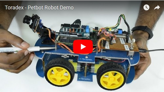 Toradex - Petbot Robot Demo