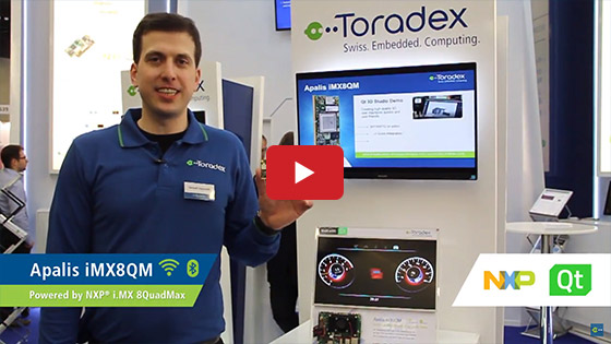 Toradex at Embedded World 2018