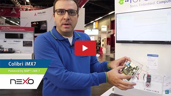Toradex at Embedded World 2018: Nexo - Service Partner