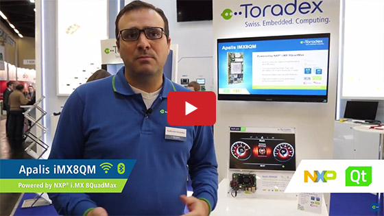 Toradex at Embedded World 2018: The Qt Company - Service Partner