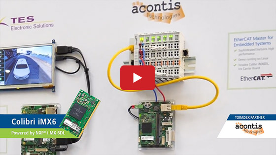 Acontis EtherCAT on Toradex SoMs