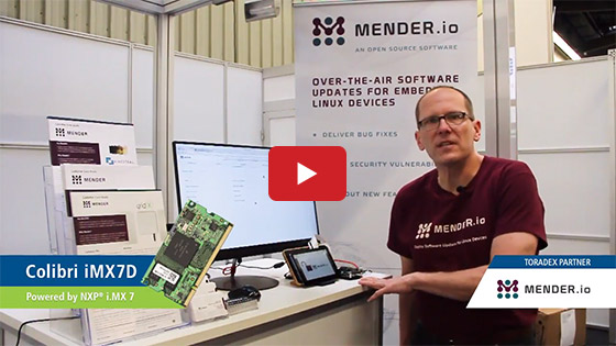 Mender's Over-The-Air Software Updates using Toradex SoMs