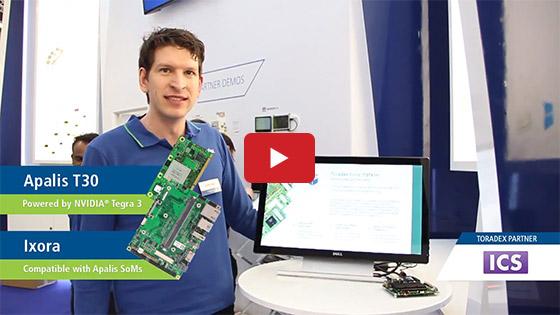 ICS' Qt-based Digital Signage Solution using Toradex's Apalis SoM