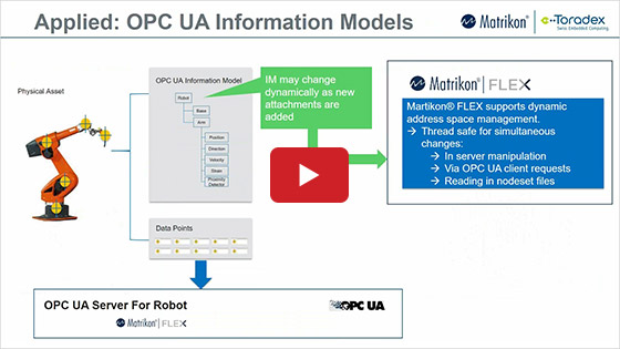 Develop I4.0 ready OPC UA enabled products with Toradex & Matrikon