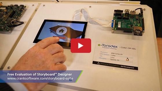 Embedded World 2019 - Toradex - Crank Software