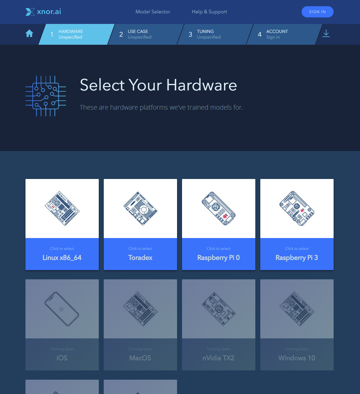 Hardware Selection