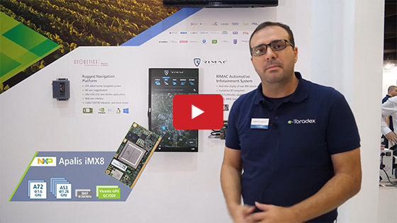 Embedded World 2019 - Toradex - Geodetics, Rimac