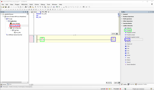Create a basic project logic