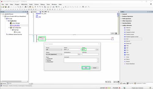 Configure the input device