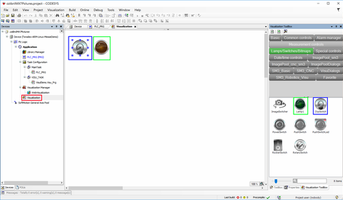 Create the visualization user interface