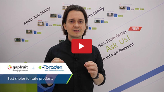 Embedded World 2019 - Toradex - Gapfruit