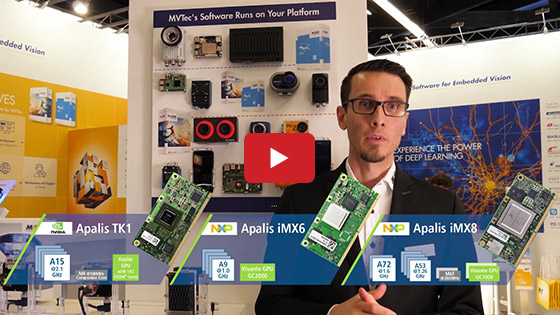 Embedded World 2019 - Toradex - MVTec