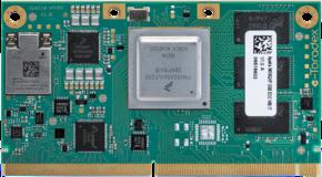 NXP i.MX 8X Computer on Module - Apalis iMX8X Front