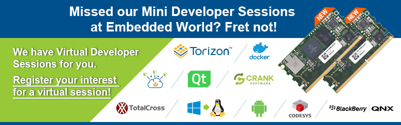 Virtual Developer Sessions