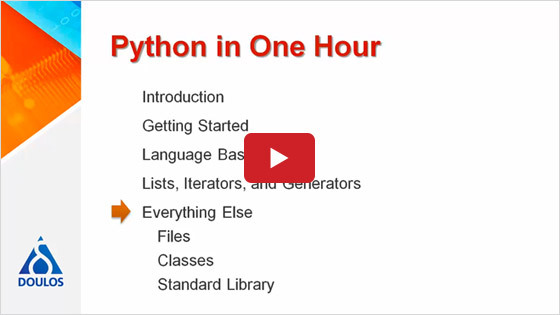 Python in One Hour