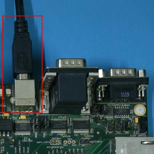 Using UART via USB X27