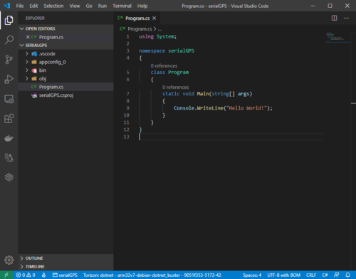 .NET Core Project