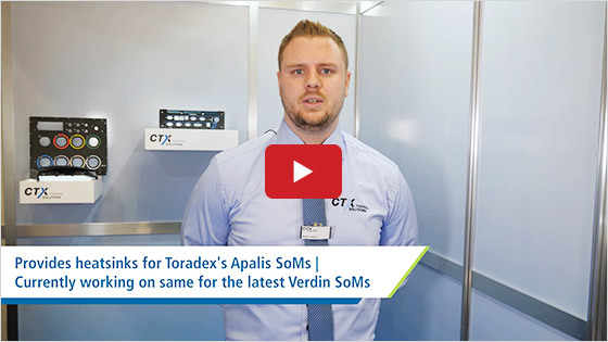 CTX Thermal Solutions GmbH - Toradex partnership highlights - Embedded World 2020