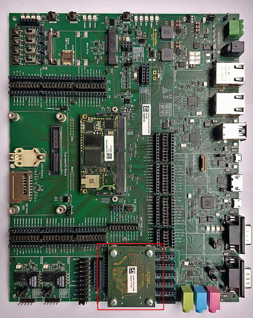 Verdin Development Board with the Adapter