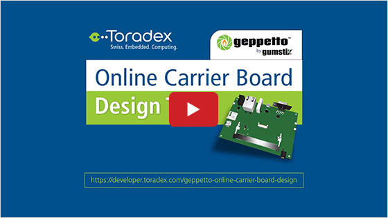 Geppetto Online Carrier Board Design Tool