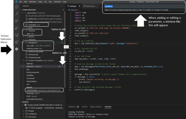 Guide For Torizon Extension On Visual Studio Code