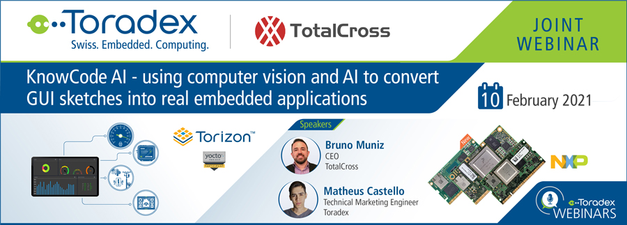 KnowCode AI - using computer vision and AI to convert GUI sketches into real embedded applications