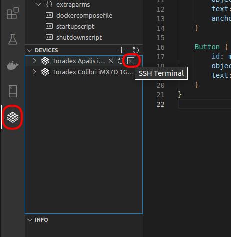 Connect via SSH Using the Visual Studio Code Extension for Torizon