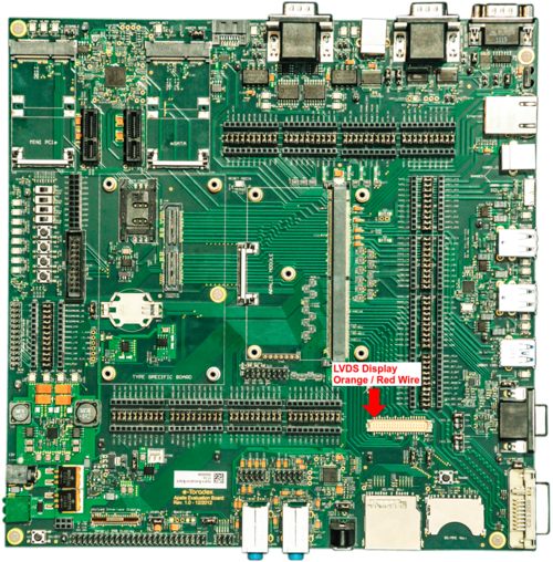Apalis Evaluation Board connection. Click to Expand